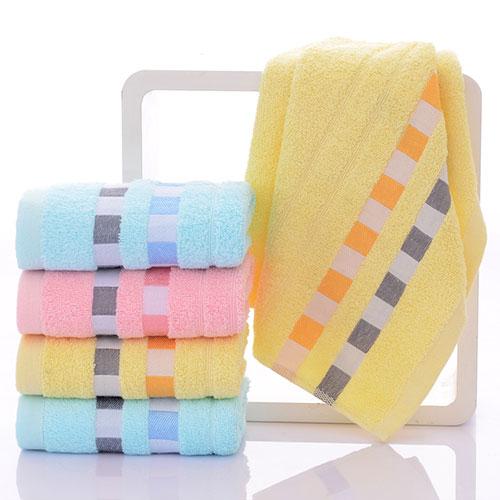 毛巾定制批发浅析毛巾会变黏的原因