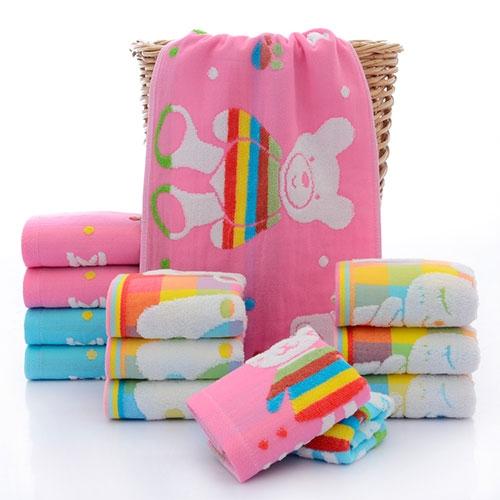 小熊儿童毛巾