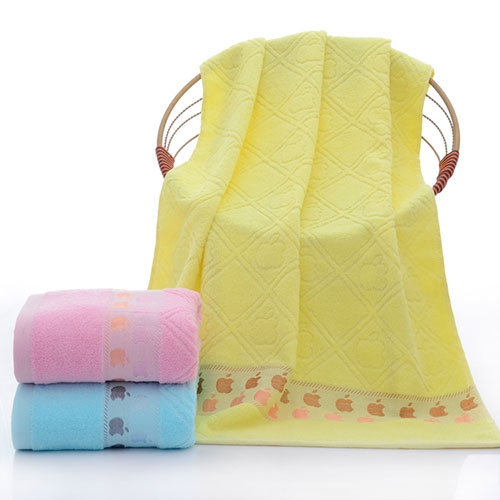 小苹果浴巾