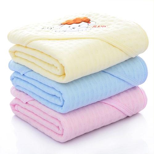 纯棉纱布抱毯