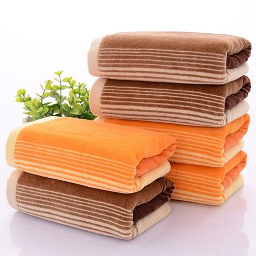纯棉割绒毛巾