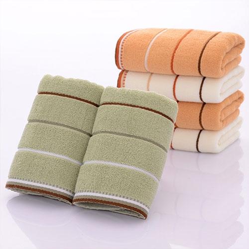 新款纯棉高低毛割绒毛巾